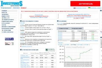 Инвестиционные фонды рк